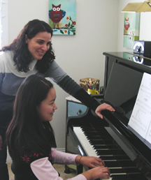 Lynda Saponara, Princeton Piano Teacher